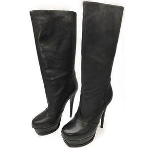 YSL Platform Boots